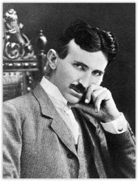Famous INTJ inventor Nikola Tesla