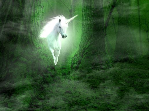 INTJ female as unicorn